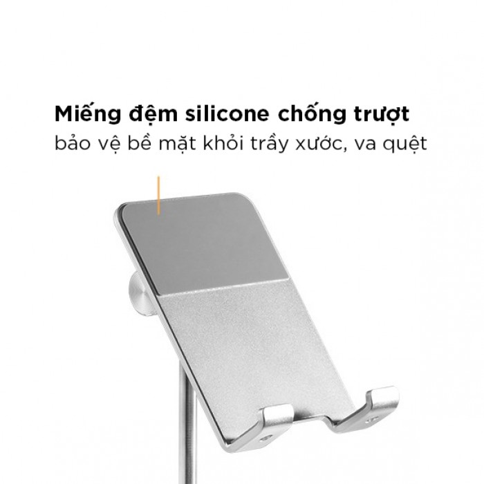 Giá đỡ điện thoại có thể điều chỉnh độ cao