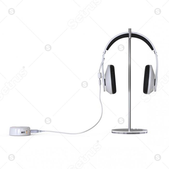 Dây cáp cảm biến chống trộm tai nghe nhạc