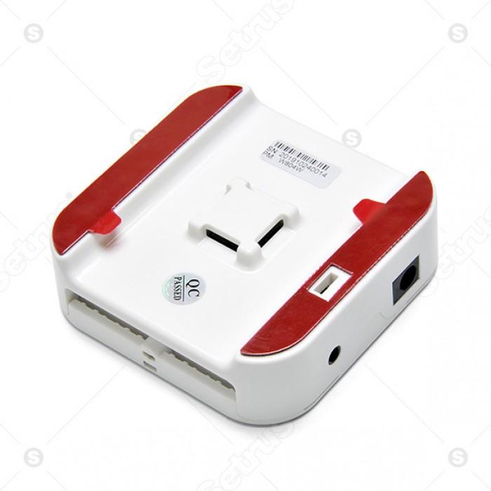 Bộ chống trộm trung tâm 4 cổng dành cho điện thoại, laptop, phụ kiện,...