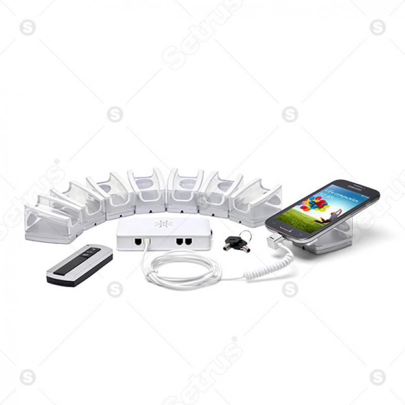 Bộ chống trộm trung tâm 8 cổng cho điện thoại
