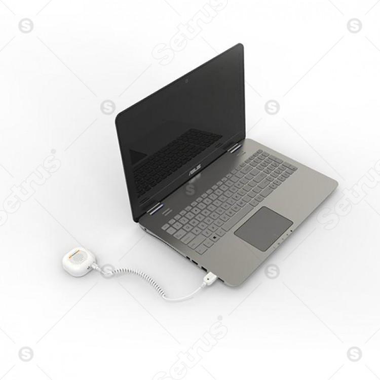 Bộ chống trộm 1 cổng cho Laptop, sản phẩm công nghệ