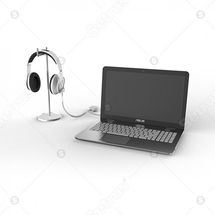 Bộ chống trộm 2 cổng cho Laptop và phụ kiện