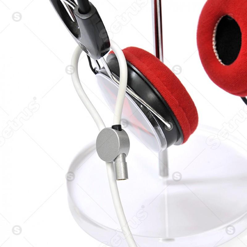 Dây khóa chống trộm tai nghe nhạc
